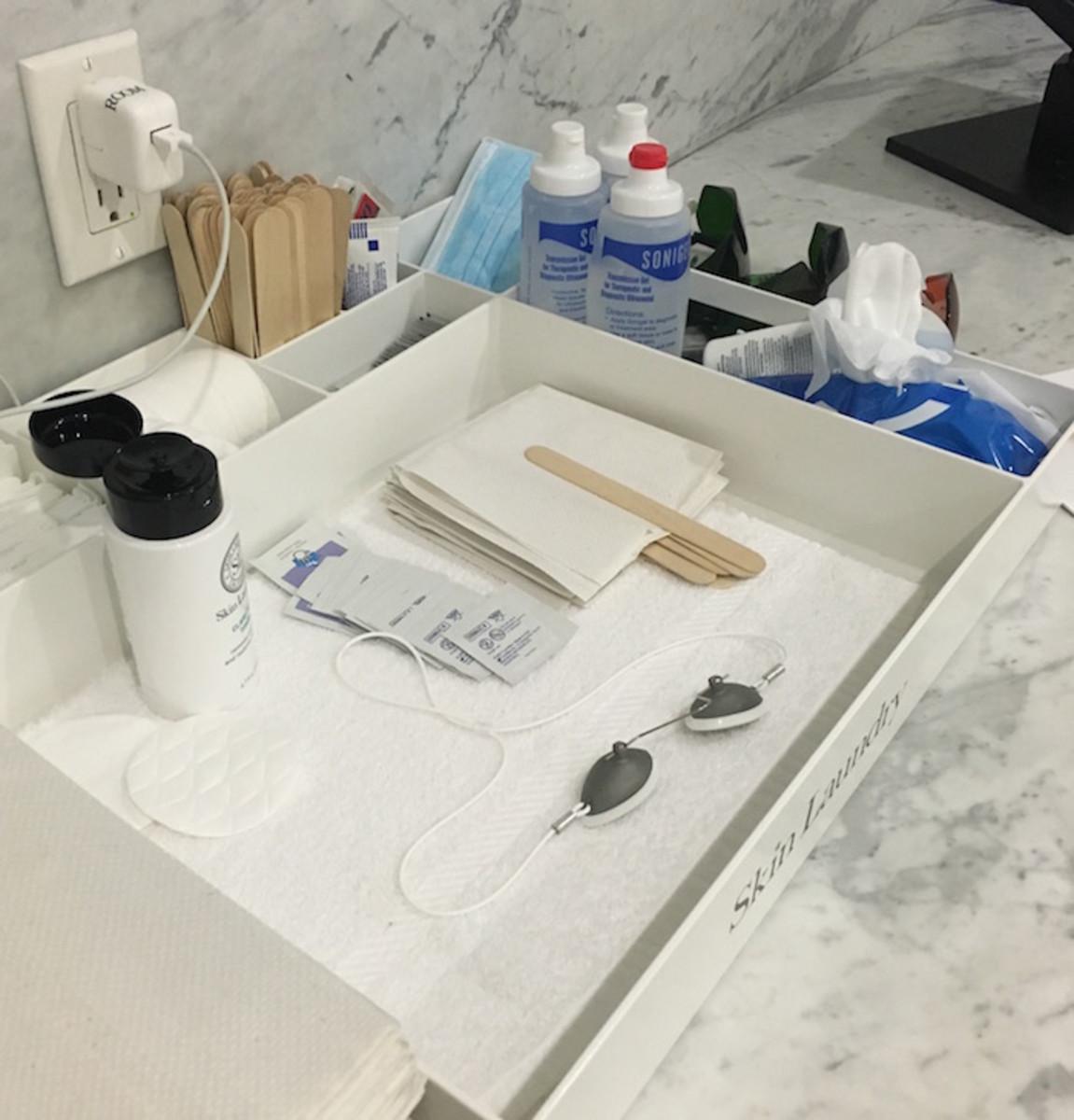 skin laundry prep