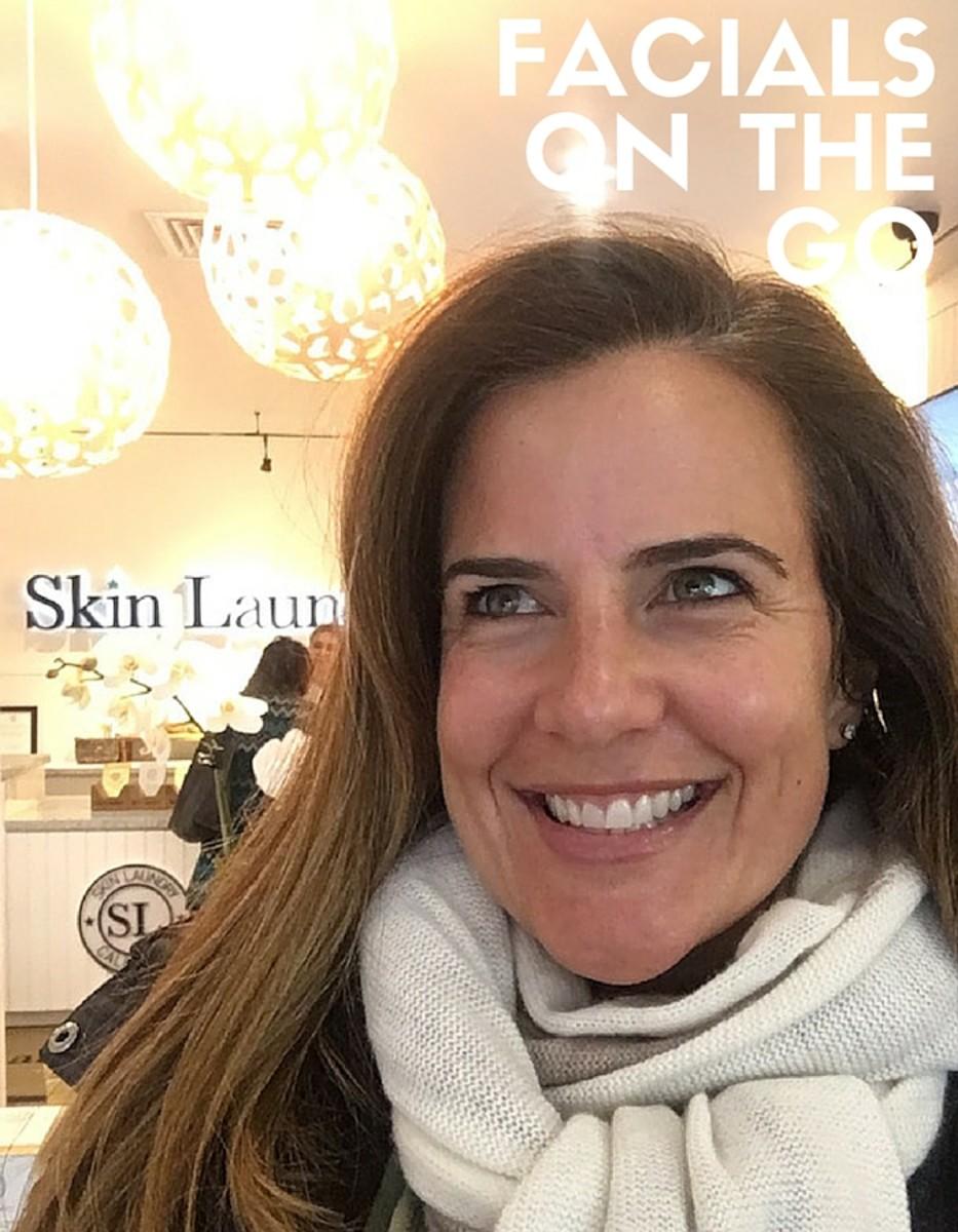 skin laundry facials on the go