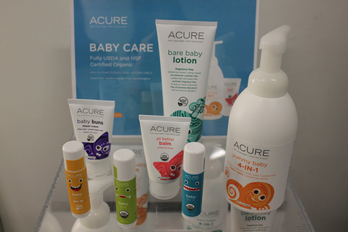 acure baby product collection