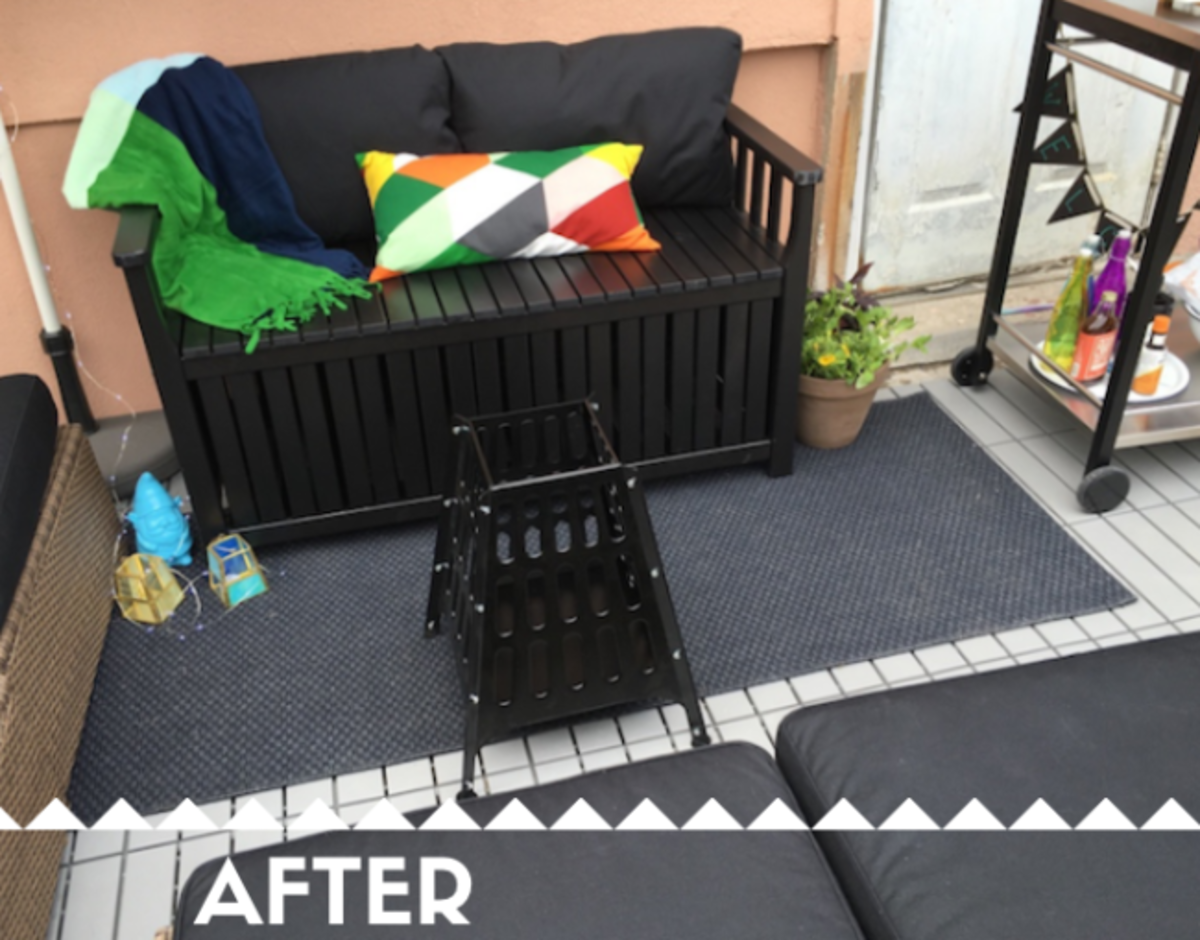 ikea backyard makeover