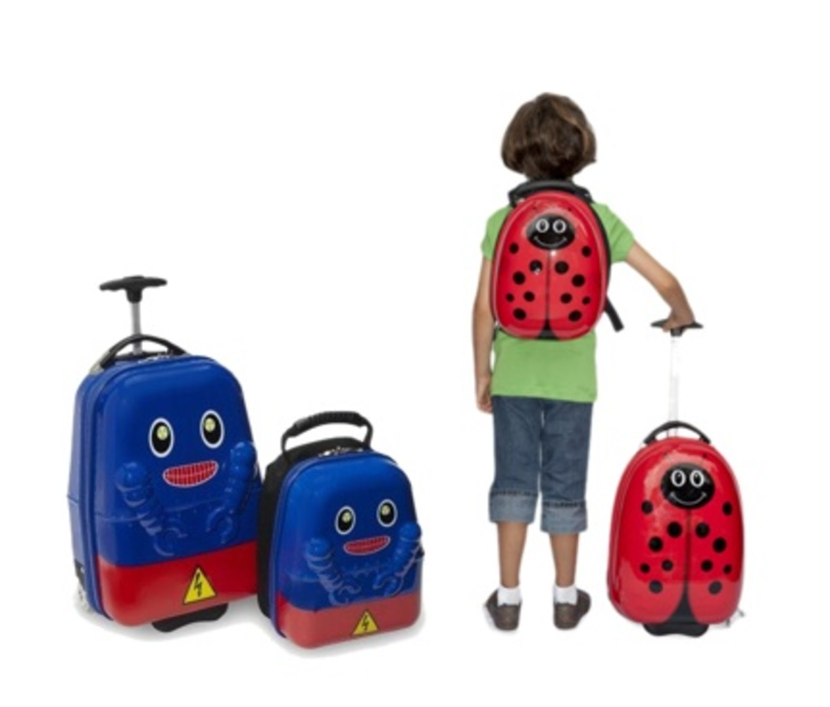 kid luggage