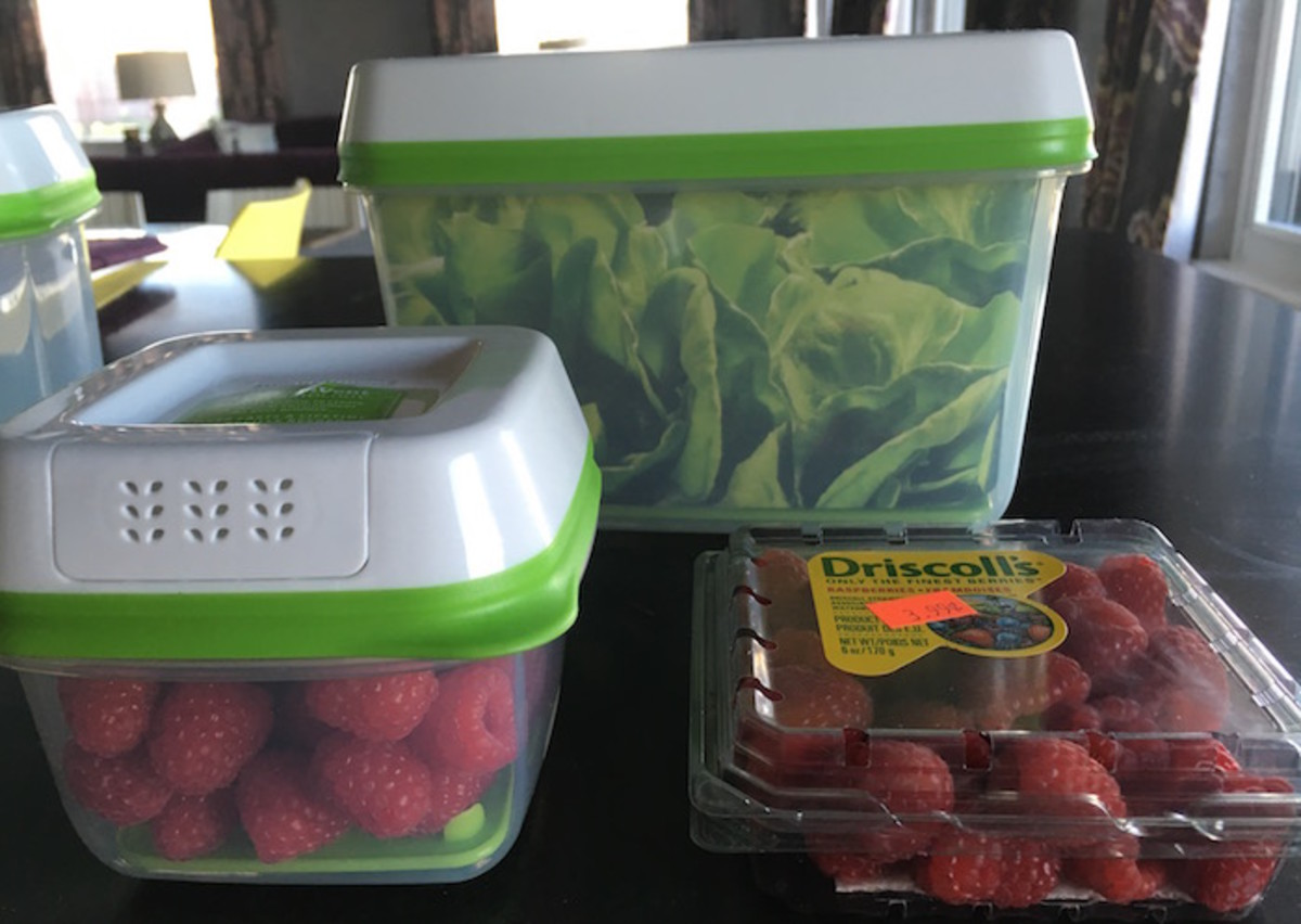 how to store berries