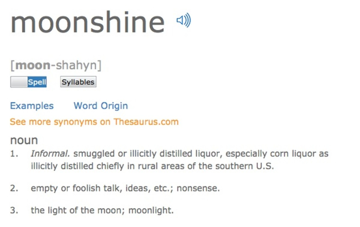 how to tell what proof moonshine is