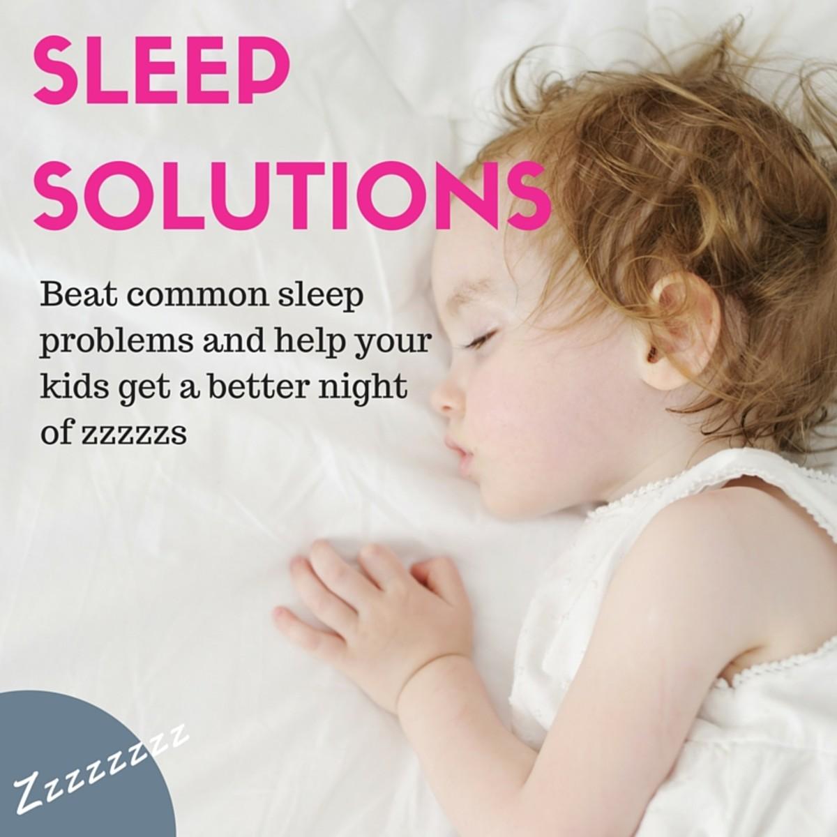 DEALING WITH KID SLEEP WOES