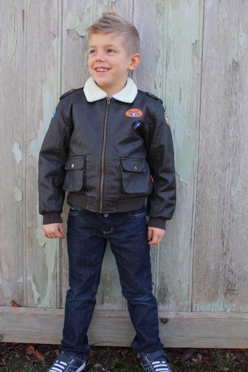 le top, aviator jacket, bomber jacket, boys clothing, holiday clothing