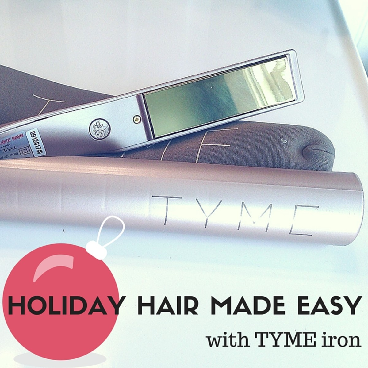 Gorgeous Holiday Hair Fast With Tyme Iron Momtrendsmomtrends