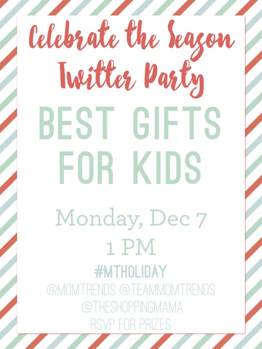 MTHoliday Best Gifts for Kids Twitter Party