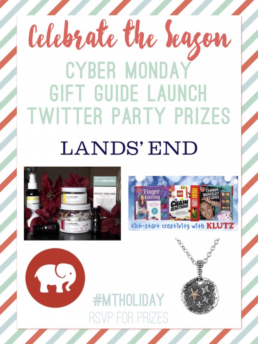 MTHoliday Cyber Monday Twitter Party Prizes