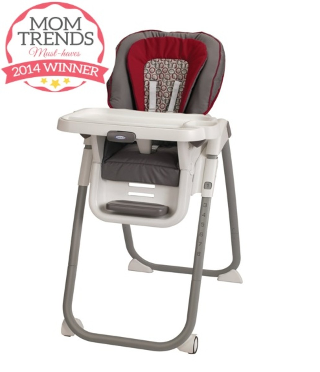 Momtrends Must-Have Best Value High Chai - Graco TableFit