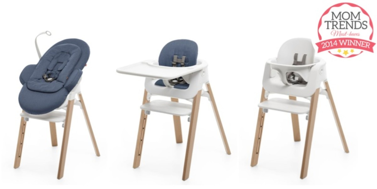 ... require a lot of gear so we love when brands create multi-use gear that lets parents get more than one function out of it like the Stokke Steps Chair.  sc 1 st  MomTrends & Momtrends Must-Haves: High Chairs - MomTrends