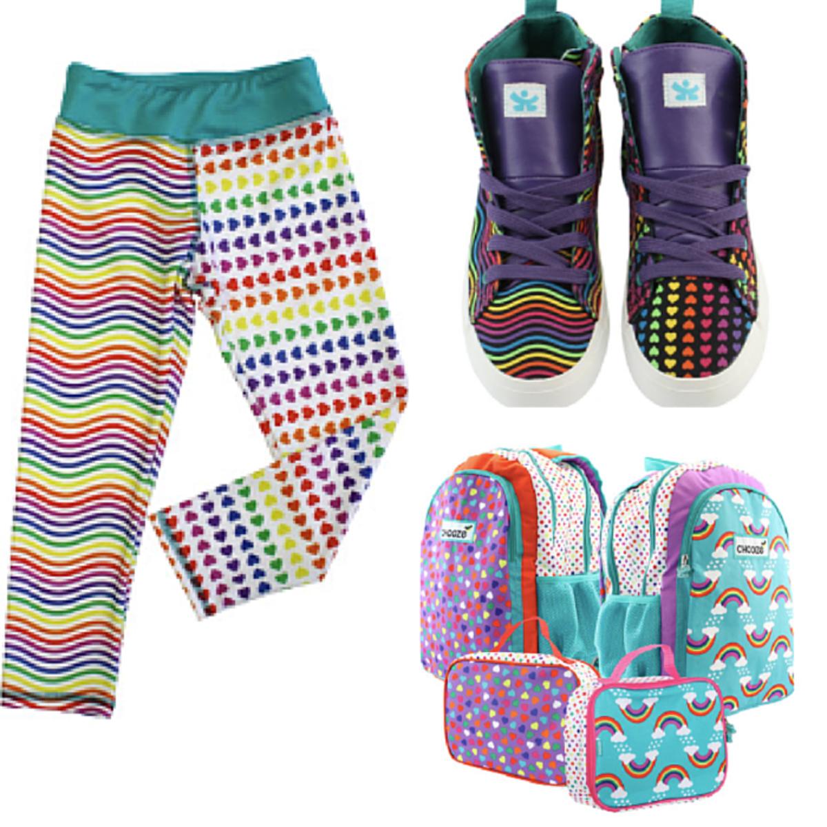 unique clothing, apparel, accessories, footwear