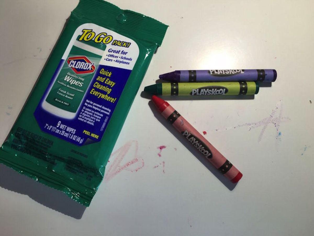 crayon messes