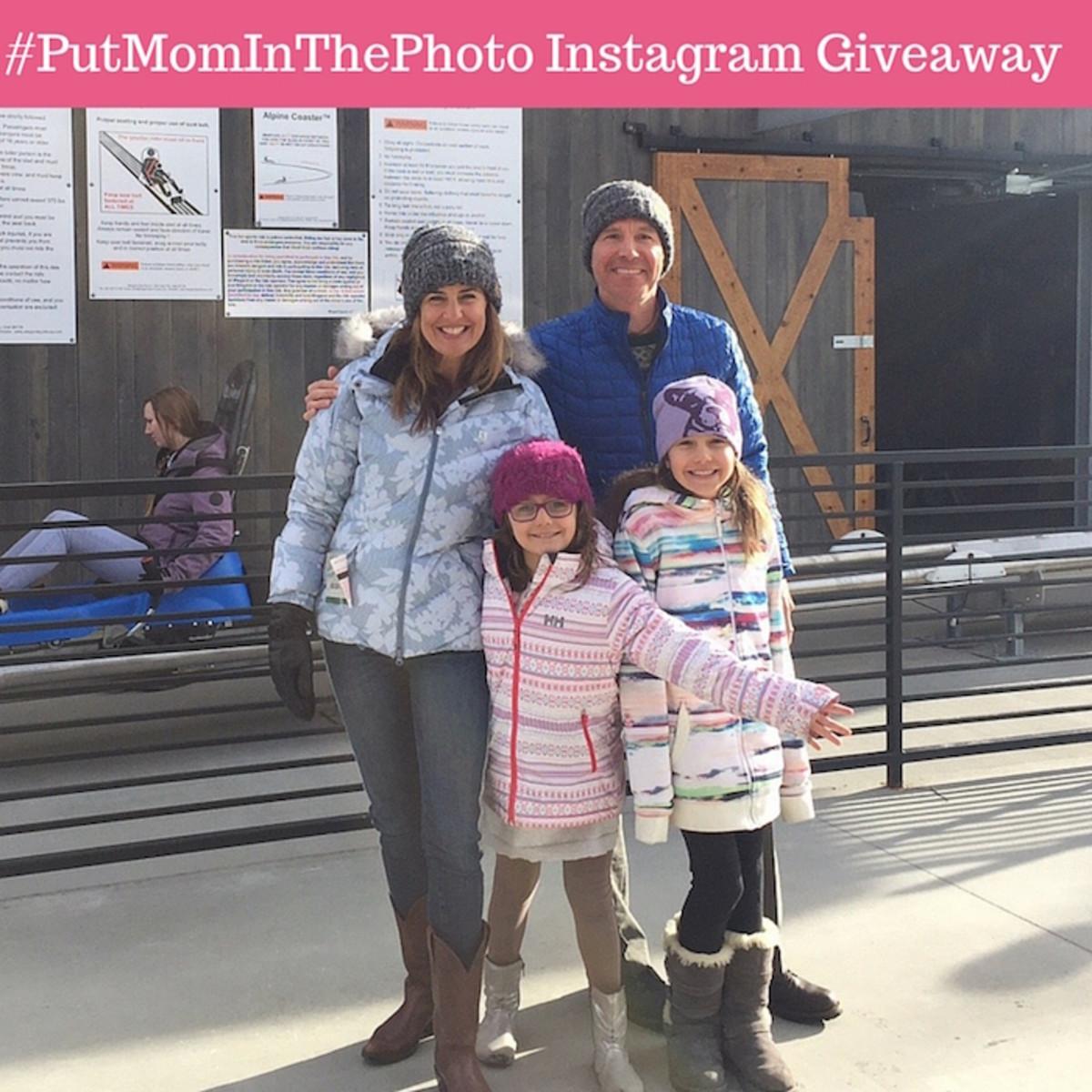 #PutMomInThePhoto Instagram Giveaway