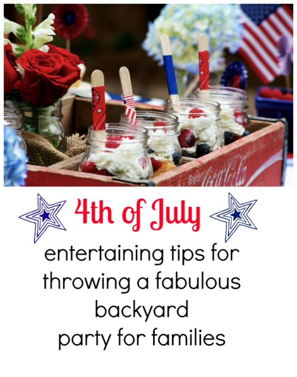 4th of July Party Planning Tips: Decor, Menu and Games ...