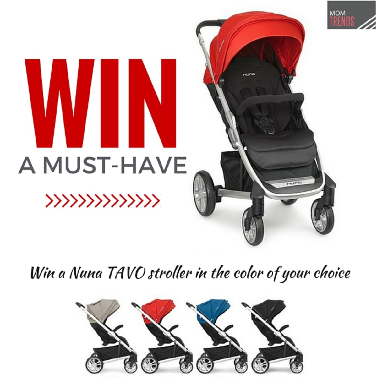 Nuna Tavo Stroller Giveaway on Momtrends