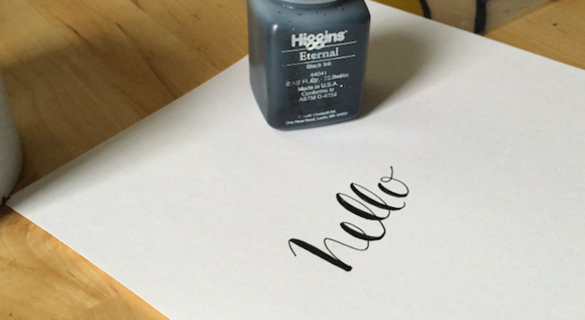 National Handwriting Day Easy Calligraphy And Lettering