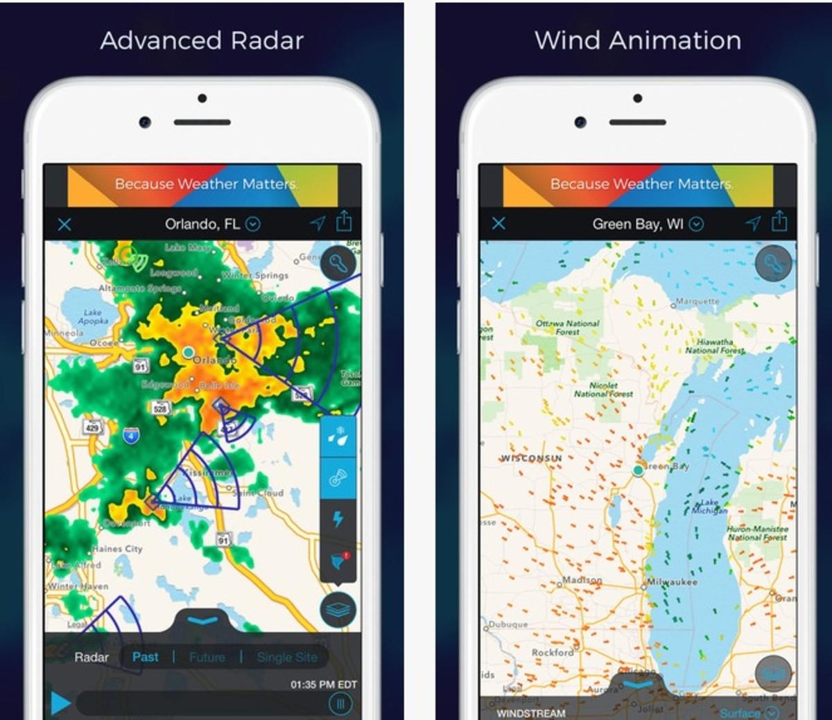Storm app