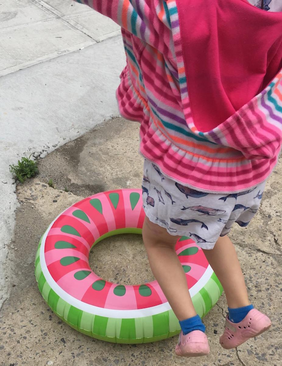 watermelon floatie