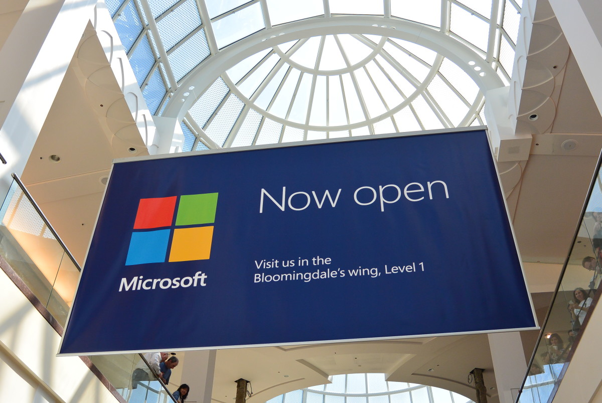 Mircosoft Store at the Roosevelt Field Mall