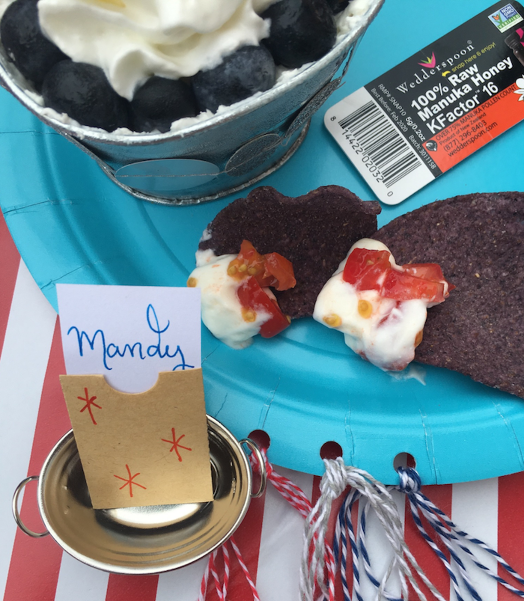 4th of july decorations and party
