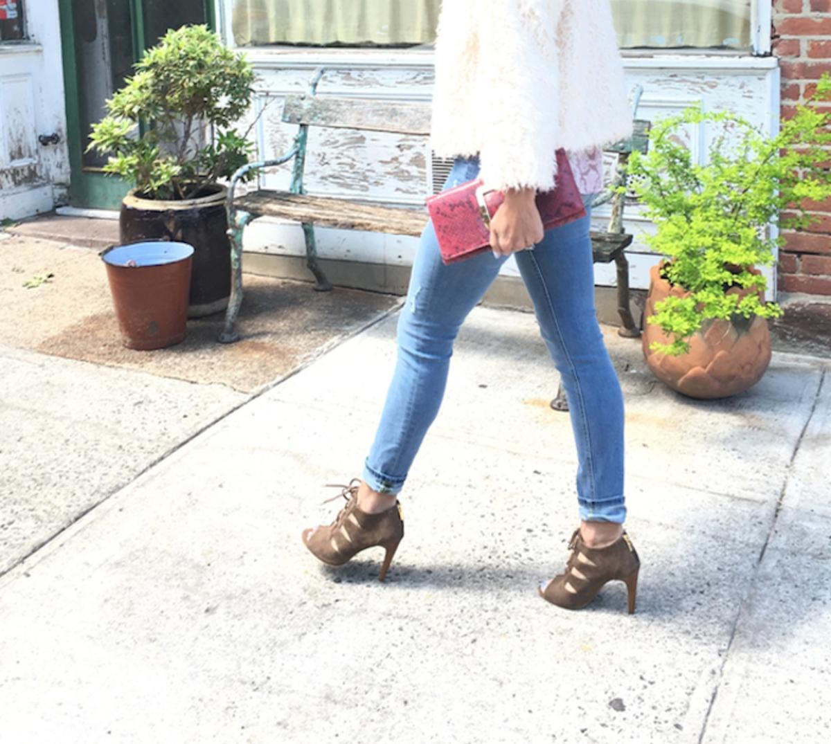 mom style denim jeans