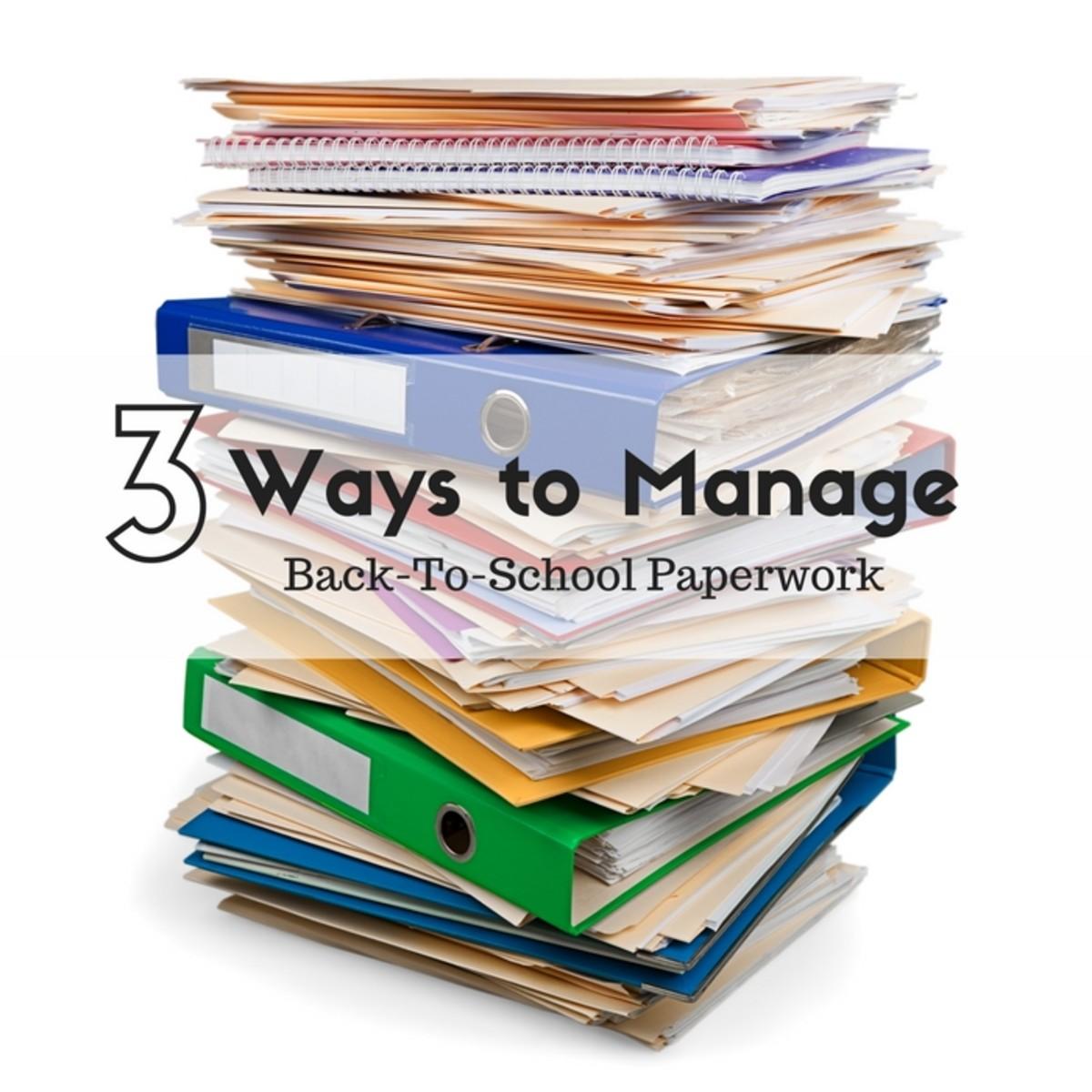 3 Ways to Manage the BTS Paperwork