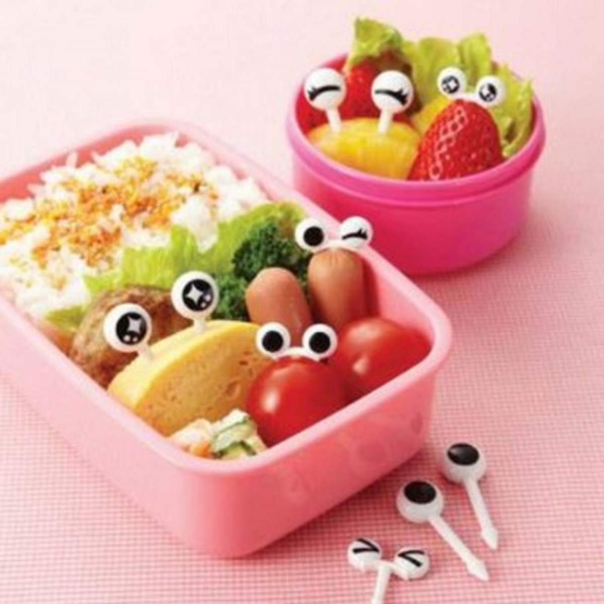 lunch box accessories eyeballs