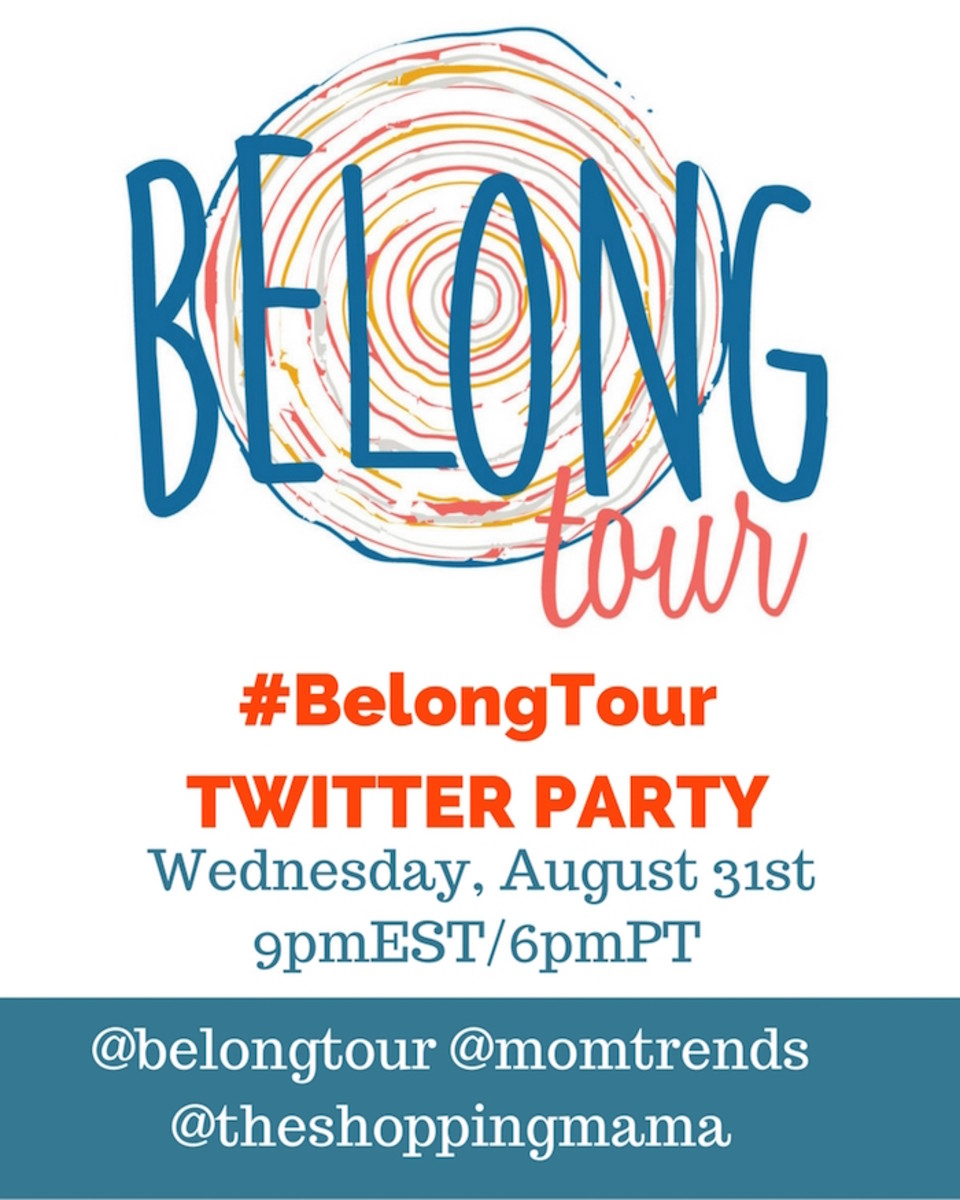 Belong Tour Twitter party