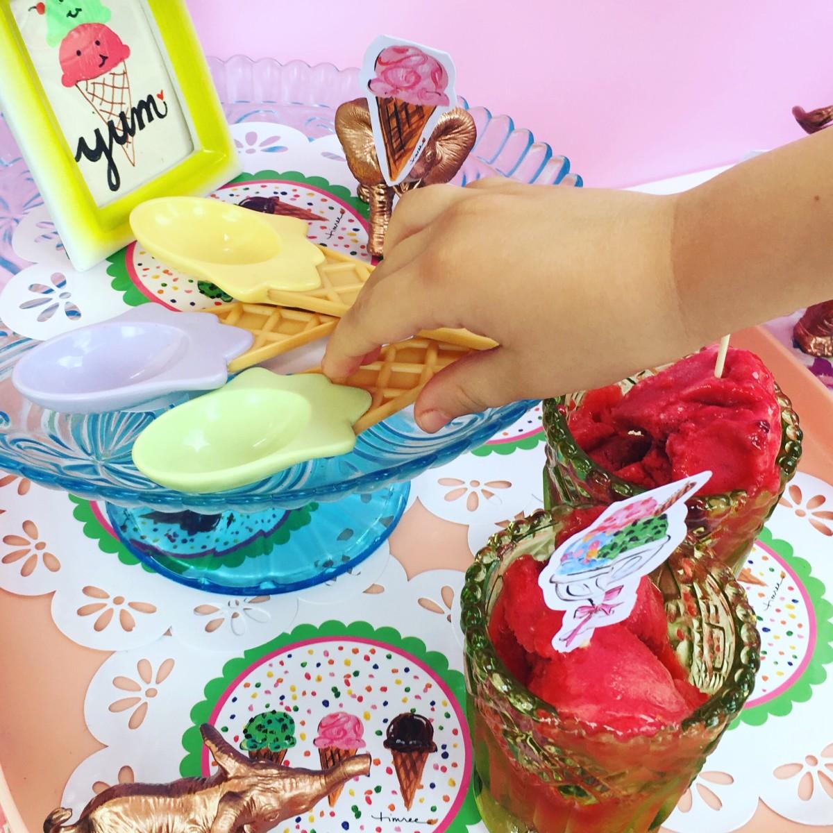 cute ice cream decorations