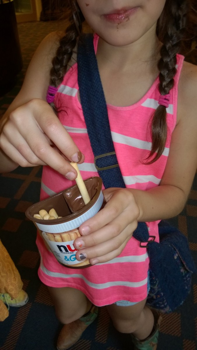 Nutella dipping fun