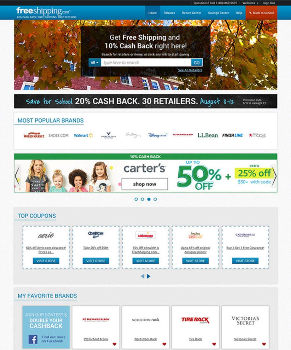 freeshipping.com, earn rewards, shop online, online shopping, bts, back to school shopping online