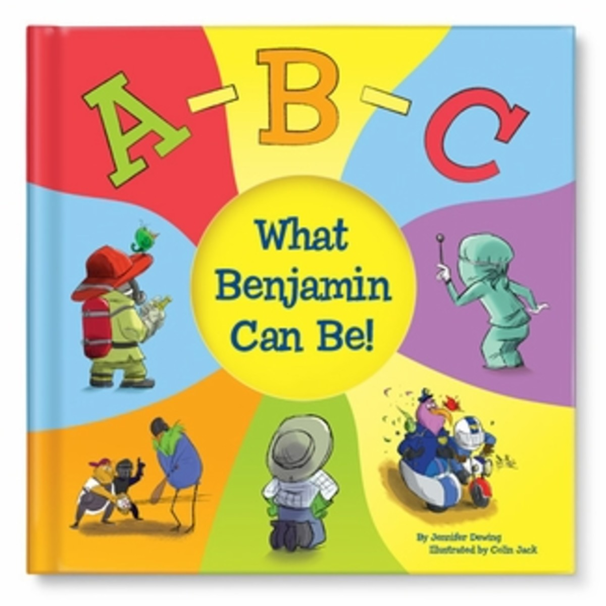 ABC What I Can Be! Personalized Book