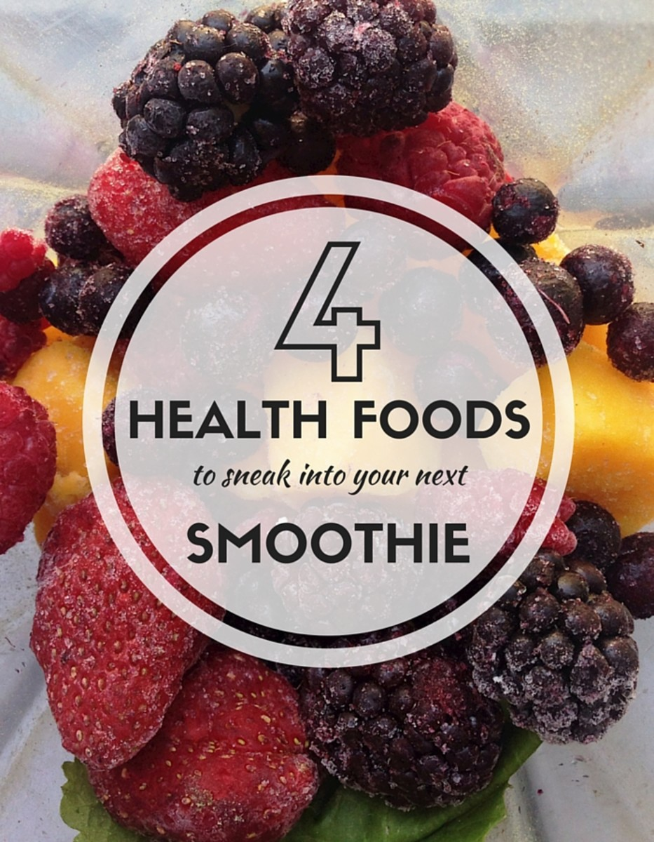 4 Health Foods to Sneak into your Next Smoothie