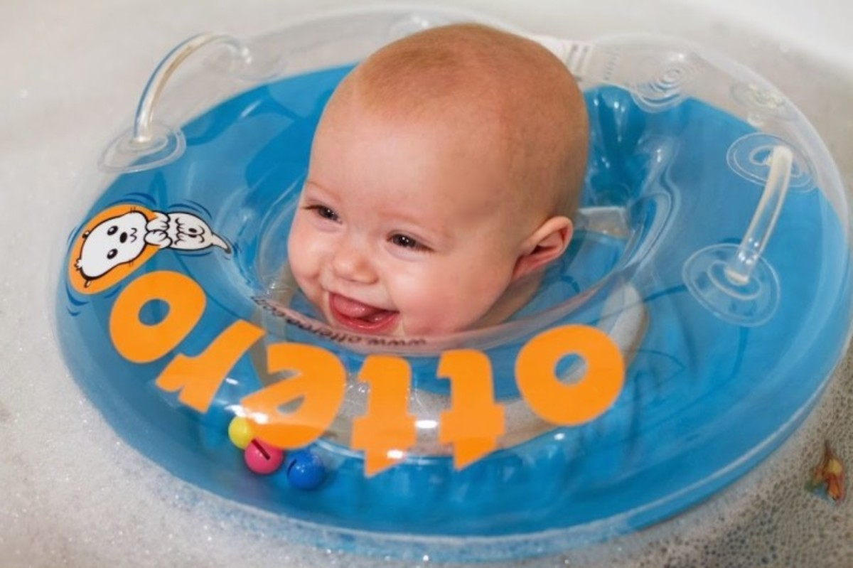 Otteroo Baby Floatie
