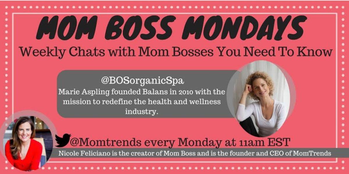 #momBoss monday