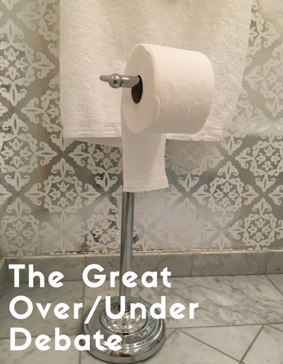 The Right Way to Roll Toilet Paper