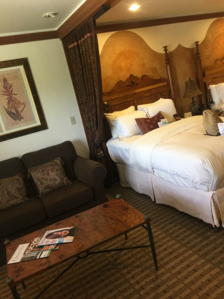 canyon ranch room