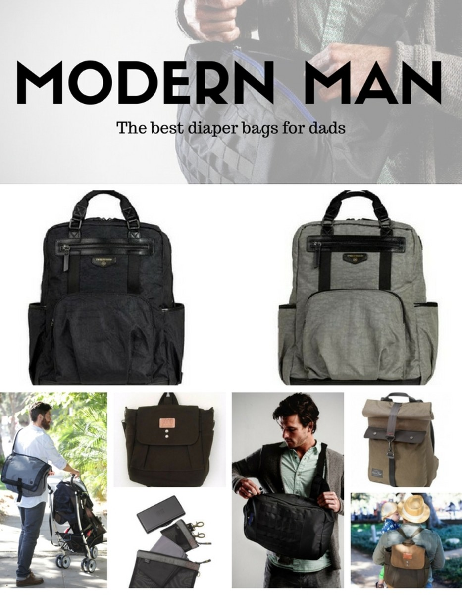 Modern Man Diaper Bags For Dads