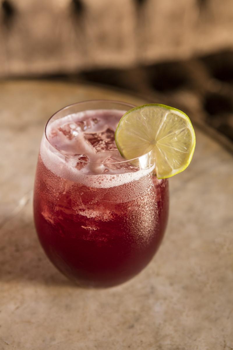 Stolen Fruit Mixer Hibiscus Margarita