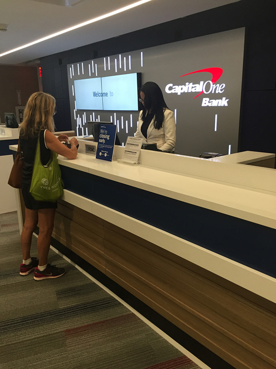 banking at capital one