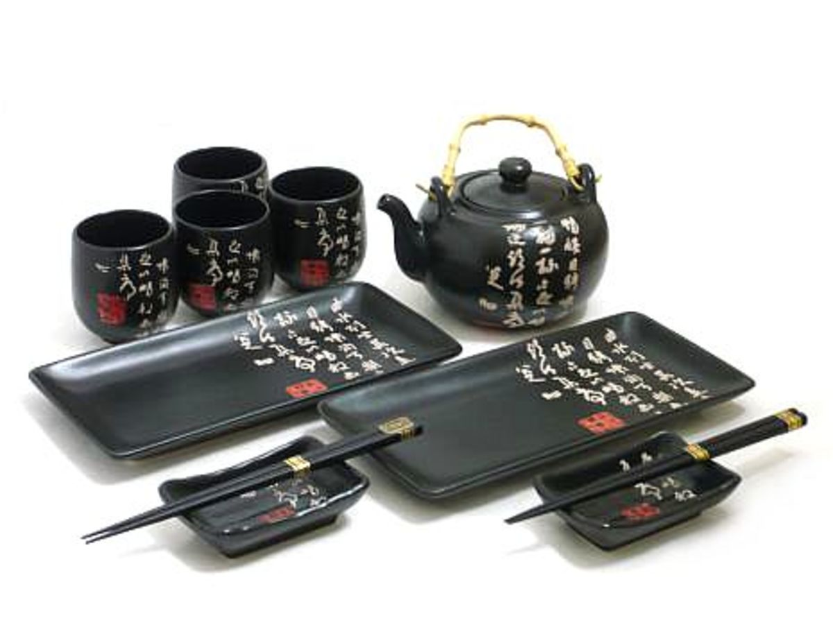black-script-sushi-tea-set