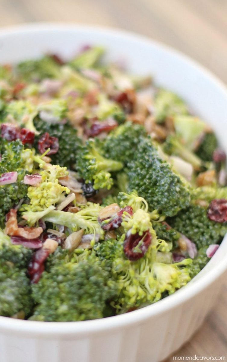 Broccoli-Cranberry-Salad