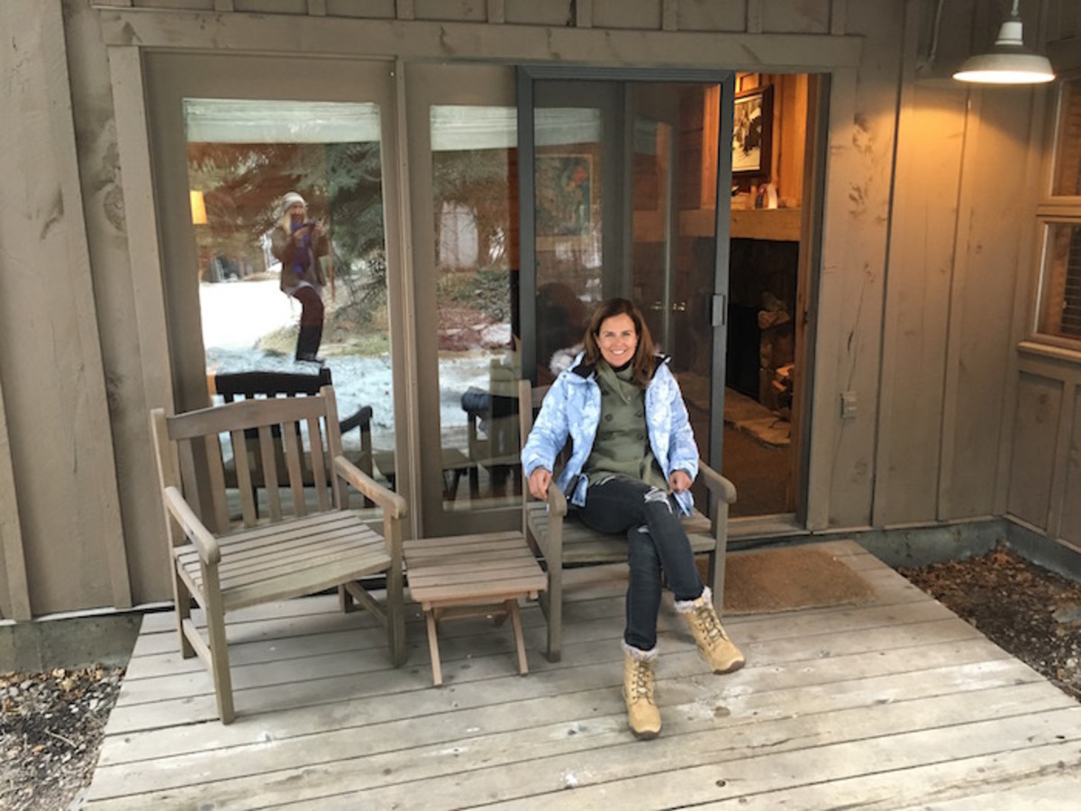 deck at Sundance