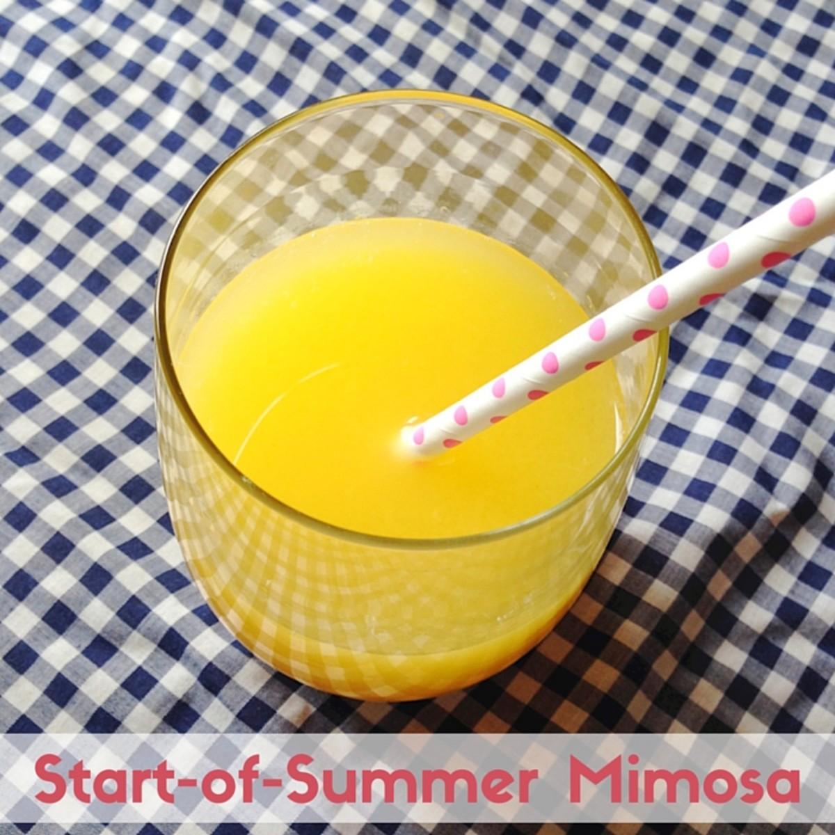 Start-of-Summer Mimosa