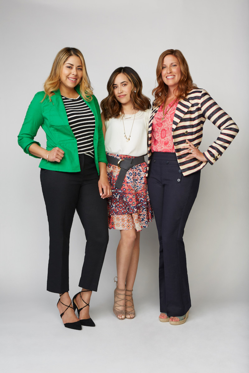 cabi girls in spring fashions