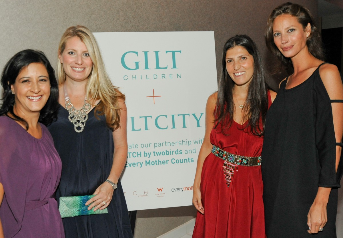 GILT CHILDREN & GILT CITY with Christy Turlington Burns Celebrate the Launch of Hatch by twobirds