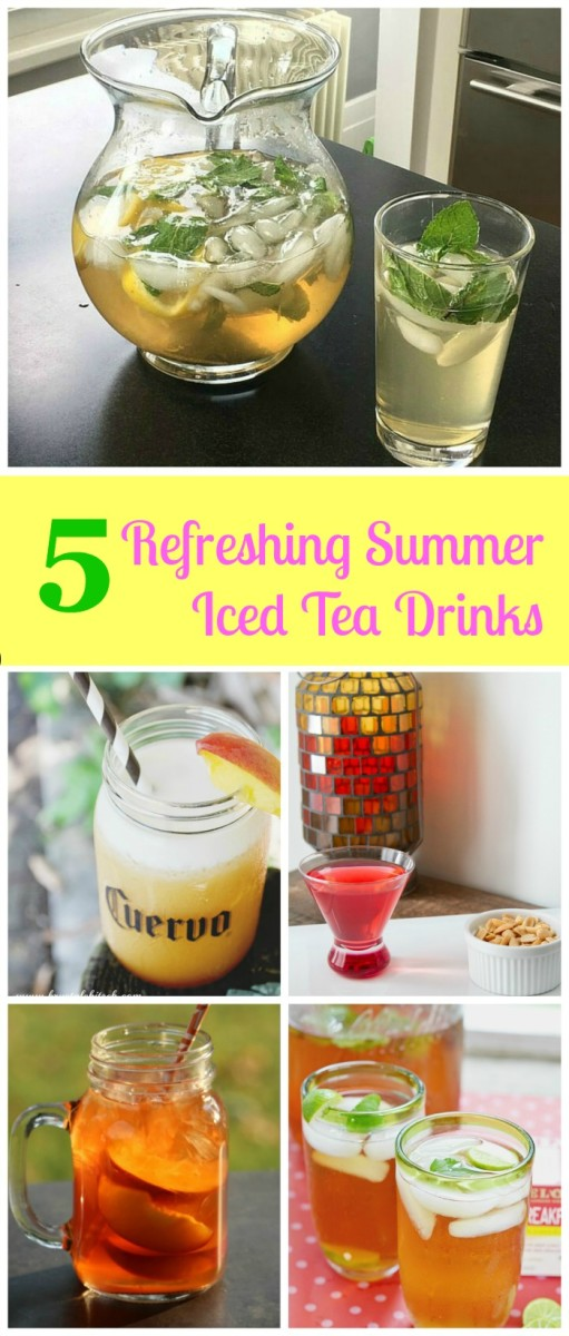 Ice Tea Drinks for Sumer