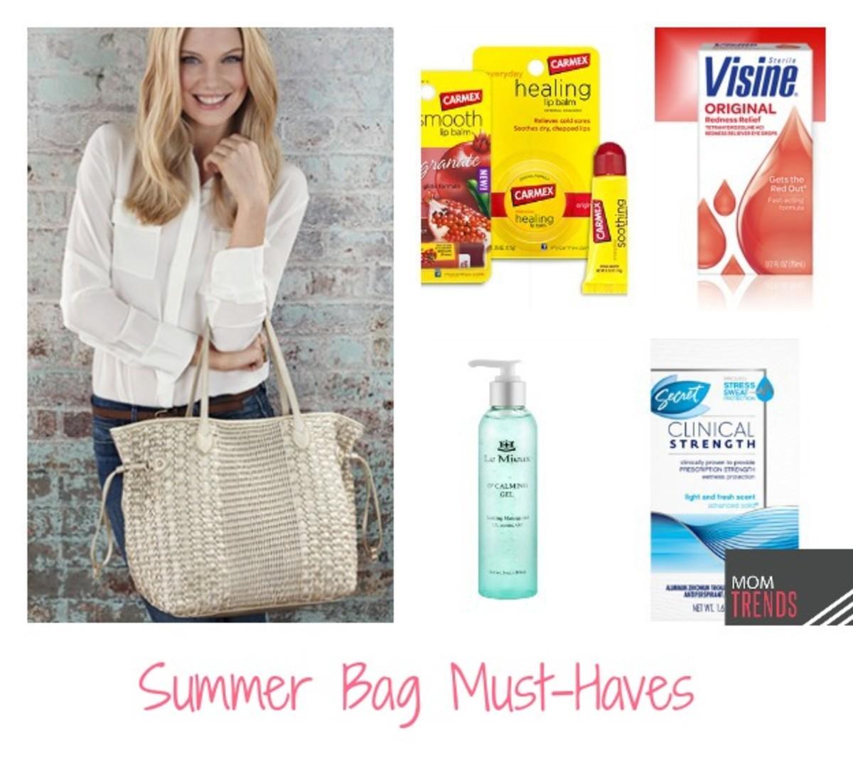 friday finds summer bag must haves momtrendsmomtrends. Black Bedroom Furniture Sets. Home Design Ideas
