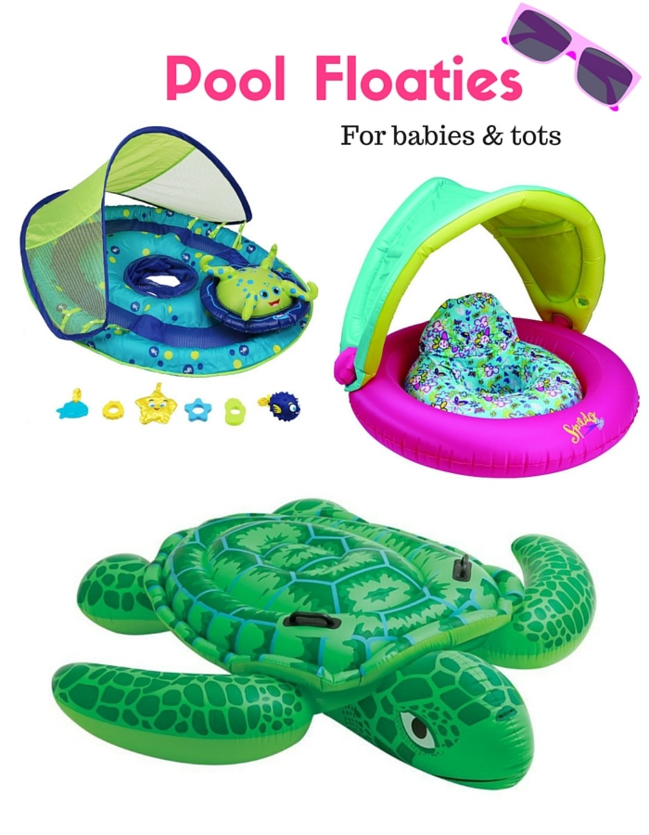 Pool Floaties for Babies and Tots