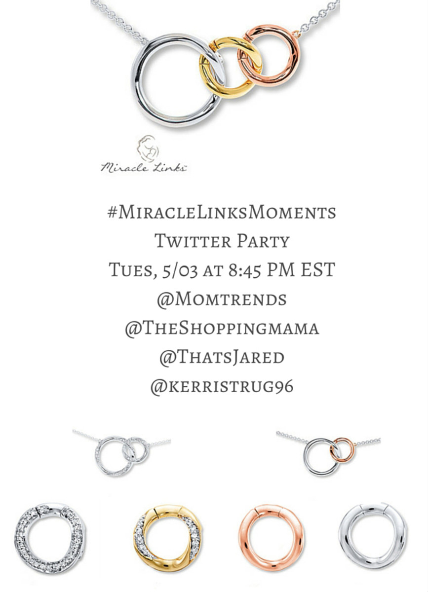 MiracleLinksMoments Mothers Day Twitter Party MomTrends